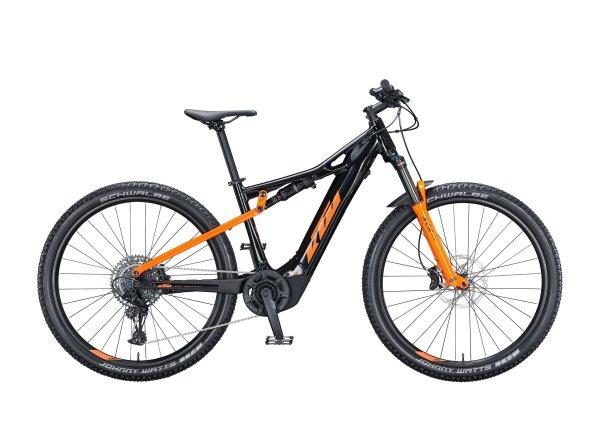 Elektrokolo KTM MACINA CHACANA 293 625Wh 2021 metallic black (orange)