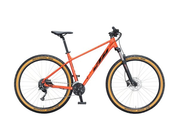 "Horské kolo KTM CHICAGO DISC 291 29"" 2021 fire orange (black)"