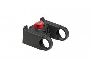 Držák KLICKfix se zámkem 2021 Black/red