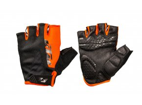 Cyklistické rukavice KTM Factory Line 2021 Black/orange