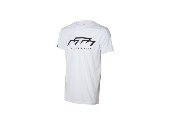 Tričko KTM Bike Industries 2021 White/Black