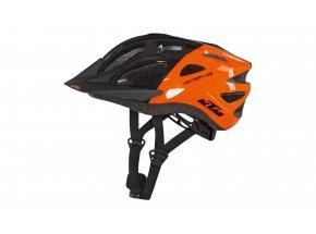 Dětská helma na kolo KTM FACTORY Youth 2021 Black/orange