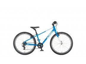 Dětské kolo KTM WILD CROSS 24 2021 metallic blue (white)