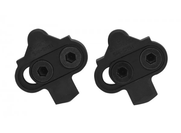 Kufry SHIMANO SPD SM-SH51 černé (1 pár) Black