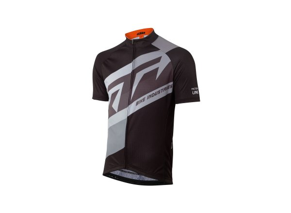 Cyklistický dres KTM Factory Line 2021 - (II. jakost) black/grey