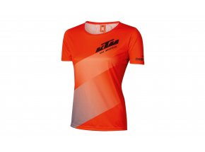 Dámský cyklistický dres KTM Lady Character 2021 Orange/grey