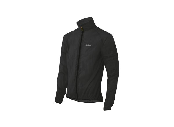 Cyklistická bunda KTM Factory Line Windbreaker 2021 Black