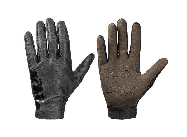 Cyklistické rukavice KTM Factory Team Long 2021 Black