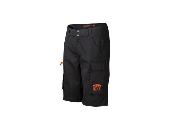 Kraťasy KTM Factory Team Work Short 2021 Black/orange