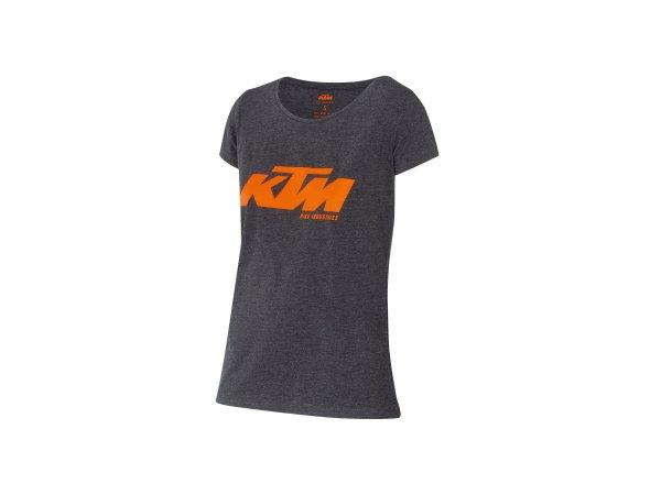 Dámské tričko KTM Factory Lady 2021 Grey/orange