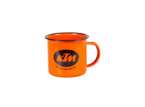 Plechový hrnek KTM Cup 1964 2021 Orange/black matt