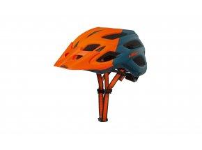 Helma na kolo KTM Factory Character 2021 orange matt/petrol matt