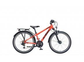 Dětské kolo KTM WILD ONE 24 ATB 2021 metallic fire orange (black)