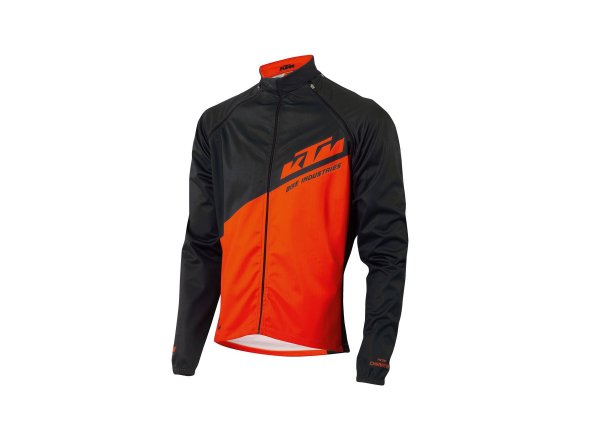 Bunda KTM Factory Character Jacket +/- Arms 2021 Black/orange