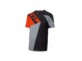 Cyklistický dres KTM Factory ENDURO 2021 Black/orange