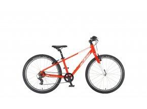 Dětské kolo KTM WILD CROSS 24 2021 metallic fire orange (white)