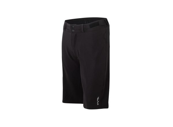 Cyklistické kraťasy KTM Factory Character 2021 včetně vnitřichních kalhot s vložkou Black