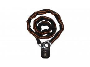 Zámek KTM Pro U-lock Chain Code 2021 Black/orange