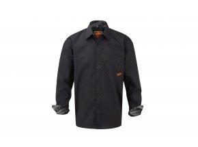 Pánská košile KTM Factory Team 2021 Black