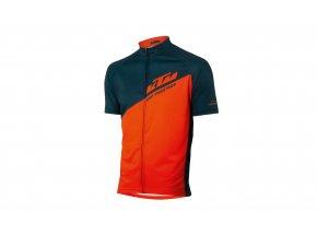 Dres KTM Factory Character 2021 Petrol/orange
