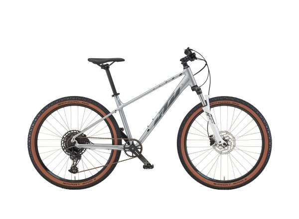 Dámské horské kolo KTM ULTRA GLORIETTE 27 2022 starlight silver (grey + night red)