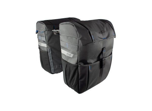Dvojbrašna KTM Sport Carrier Bag Double Fidlock snap it 2022 Grey/blue