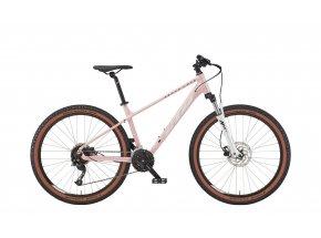 Dámské horské kolo KTM PENNY LANE 271 27 2022 bloom (white + deep purple)