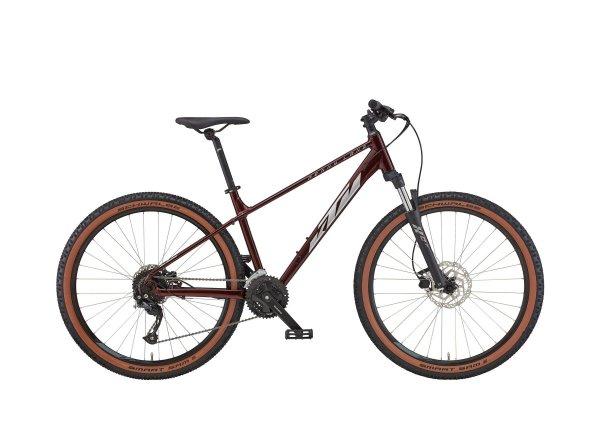 Dámské horské kolo KTM PENNY LANE 271 27 2022 night red (silver)
