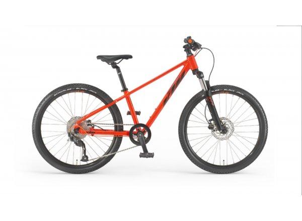 Dětské kolo KTM WILD SPEED DISC 20 2022 fire orange (black)