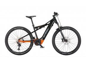 Elektrokolo KTM MACINA CHACANA 591 500Wh 2022 flaming black (grey+orange)