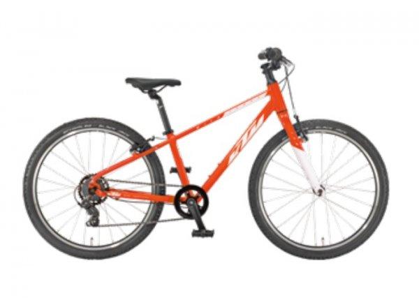 Dětské kolo KTM WILD CROSS 24 2022 fire orange (black)