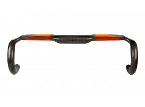 Silniční řidítka KTM Prime Handlebar Aero Carbon Black/orange