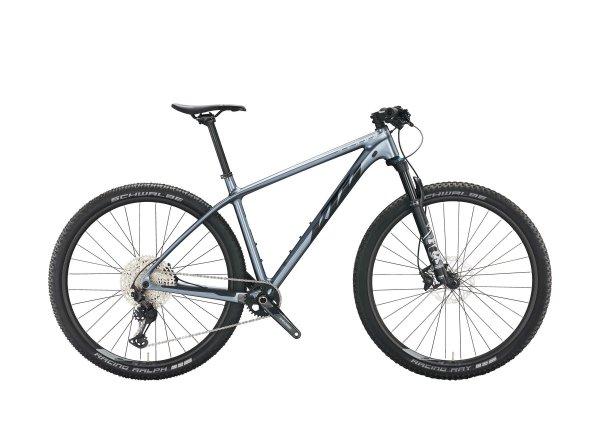 Horské kolo KTM MYROON ELITE 29 2022 metallic grey (black+silver)