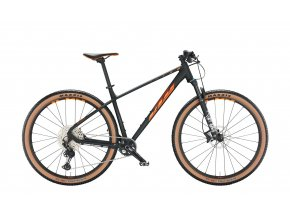 Horské kolo KTM ULTRA 1964 PRO 29 2022 black matt (orange glossy)