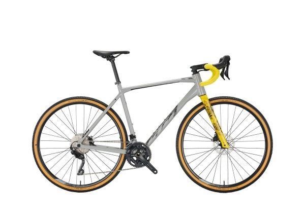 Gravel kolo KTM X-STRADA 20 2022 ultimate grey (black+yellow)