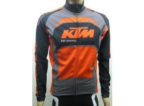 Zateplený dres KTM Factory Team Winter dlouhý rukáv