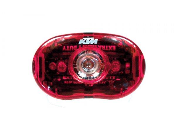 Zadní blikačka KTM 0,5Watt Black/red