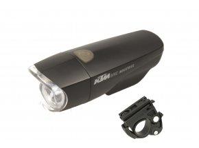 Přední světlo KTM 1LED 1W včetně držáku 2021 Black