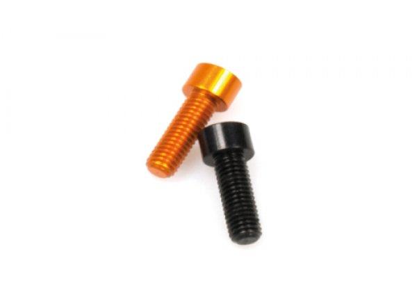 Sada alu šroubů KTM 4 + 4 kusy Black & orange
